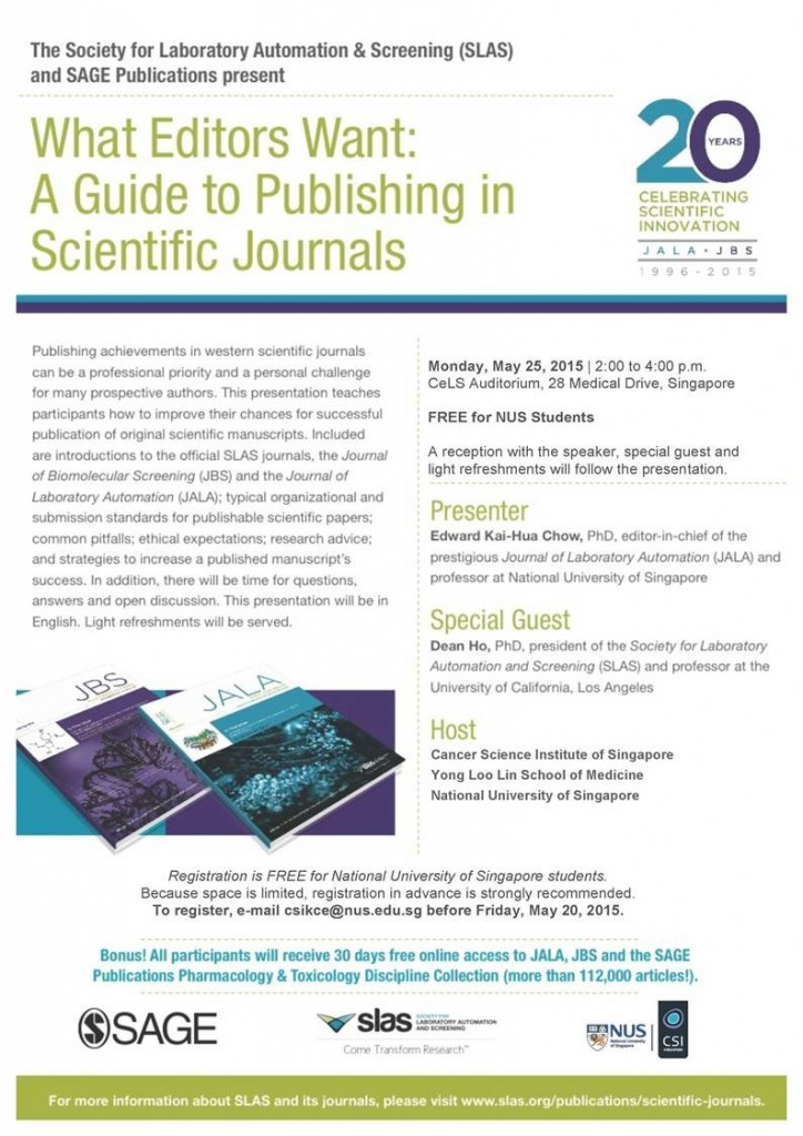 Author Workshop 25 May