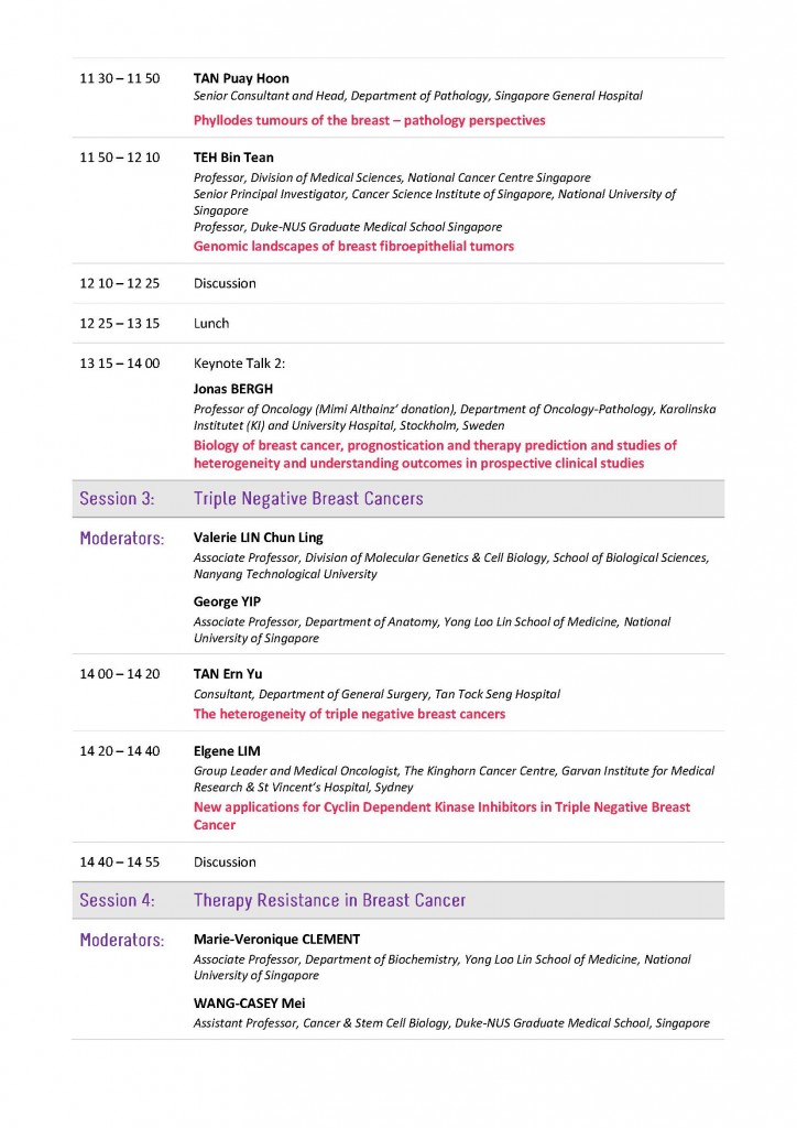 upcoming events cancer science institute of singapore csi  breast cancer symposium program 011015 page 4 breast cancer symposium program 011015 page 5